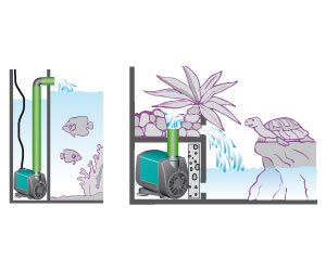 vendita pompe e filtri per acquari a Piossasco (TO)