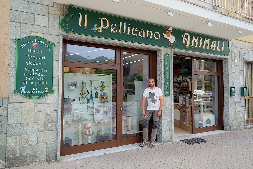 Il Pellicano negozio animali Piossasco Torino