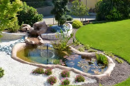 Laghetti da giardino per pesci e tartarughe in vendita a for Cascate per laghetti da giardino