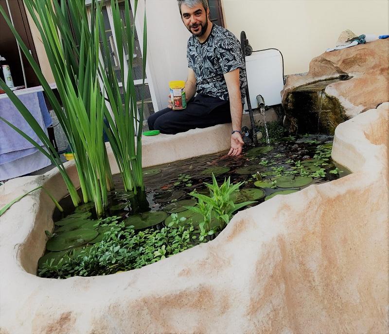 Laghetti da giardino per pesci e tartarughe in vendita a for Lago tartarughe